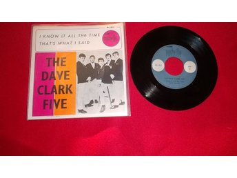 "The Dave Clark Five ""I know it all the time""  singel"