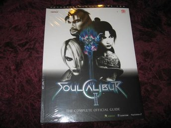 SOUL CALIBUR II THE COMPLETE OFFICIAL GUIDE (XBOX,NINTENDO GAMECUBE)  NY INPLAST