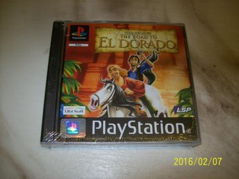 GOLD AND GLORY THE ROAD TO EL DORADO NYTT INPLASTAT (PS1)