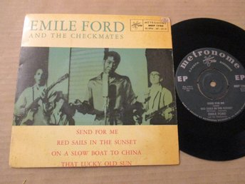 "Emile Ford ""Send For Me"""