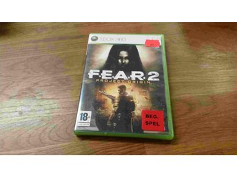 FEAR 2 PROJECT ORIGIN XBOX 360 BEG - Uddevalla - FEAR 2 PROJECT ORIGIN XBOX 360 BEG - Uddevalla
