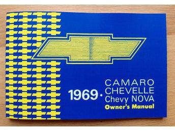 Instruktionsbok Chevrolet Camaro Chevelle Chevy Nova 1969 - Grängesberg - Instruktionsbok Chevrolet Camaro Chevelle Chevy Nova 1969 - Grängesberg