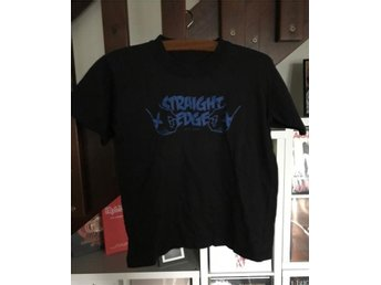 Straight Edge t-shirt (small) (Hardcore Punk Metal Straight Edge SXE Vegan)