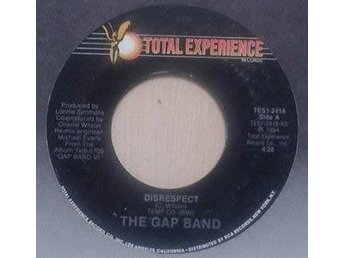 "The Gap Band title*  Disrespect* Disco 7"", Promo US"