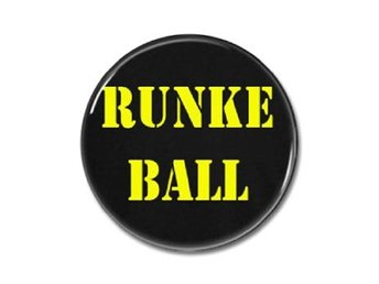 Meduza Eddie: Knapp / Badge / Runke Ball