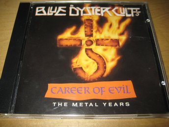 BLUE ÖYSTER CULT - CAREER OF EVIL.  THE METAL YEARS.