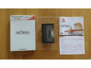 Wonderswan Color: Final Fantasy II 2