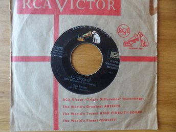 Elvis Presley: All shook up + 1. Original!  RCA Victor, USA 1957