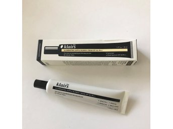 Klairs Illuminating Suppleant Blemish Cream spf 40 BB cream solskydd concealer