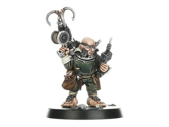 Warhammer 40K Blackstone Fortress: Ratling Twins, Rein and Raus. Omonterade