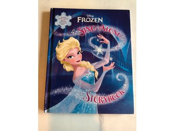 Disney Frozen Book, Frost bok. Engelska med CD