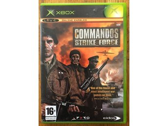 XBOX SPEL COMMANDOS STRIKE FORCE