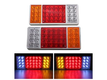12v 36 LED Trailer Truck Stop Rear Tail Indicator Reverse...