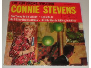 Connie Stevens OMSLAG EP Too young to go steady 1960