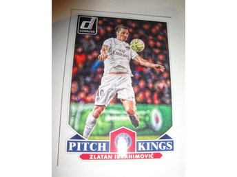 Panini Donruss Soccer 2015 - Pitch Kings - ZLATAN IBRAHIMOVIC - Paris / PSG