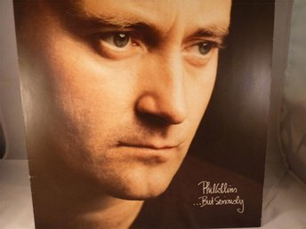 PHIL COLLINS - BUT SERIOUSLY  ( LP / VINYL )