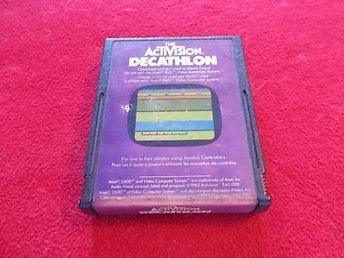DECATHLON till Atari 2600 - Blomstermåla - DECATHLON till Atari 2600 - Blomstermåla