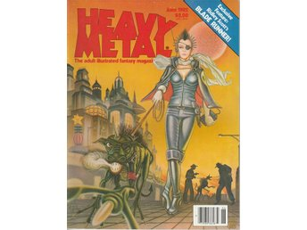 HEAVY METAL ADULT FANTASY MAGAZINE JUNE 1982