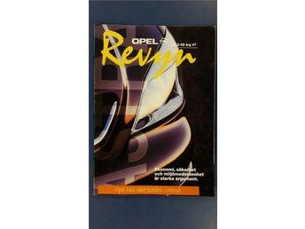 Opel Revyn nr 2 1998: Presentation av nya Opel Astra - Uppsala - Opel Revyn nr 2 1998: Presentation av nya Opel Astra - Uppsala