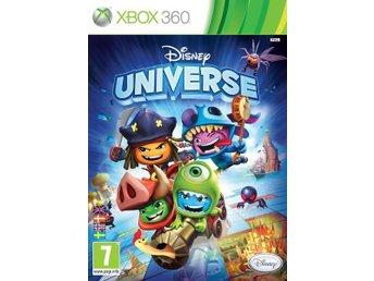 Disney Universe XboX 360 NY! INPLASTAD! - Kiruna - Disney Universe XboX 360 NY! INPLASTAD! - Kiruna