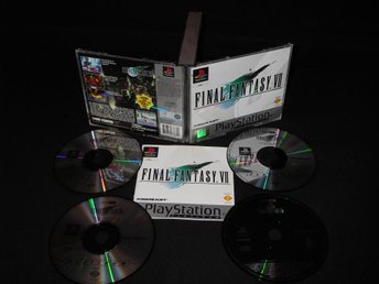 Final Fantasy VII    Double Jewel Case
