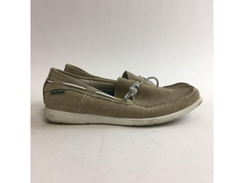 Phil Hunt, Loafers, Strl: 45, Beige, Skick: Normalt