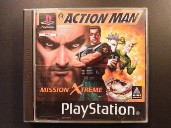 Action Man - Mission Xtreme till Playstation PS1 PSONE PAL