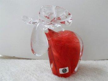 Glasälg älg glasdjur 80-talet från GUSUM FABRIK finns skada - Karlstad - Glasälg älg glasdjur 80-talet från GUSUM FABRIK finns skada - Karlstad