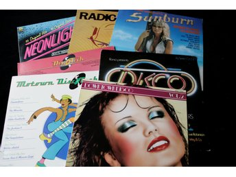 Disco, pop & synth; 7 st samlingskivor 1975-´83