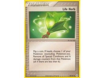Pokémonkort: Life Herb [EX Hidden Legends] 90/101 - Hova - Pokémonkort: Life Herb [EX Hidden Legends] 90/101 - Hova