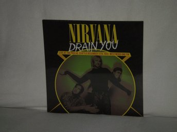 "Nirvana  -  Drain You - Live at the Pier 48 Seattle ""93   180G HEAVYWEIGHT -NY"