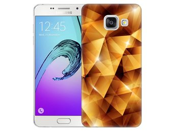 Samsung Galaxy A5 (2016) Skal Golden Polygons