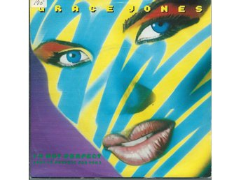 GRACE JONES - IM NOT PERFECT  ( VINYL -SINGEL)