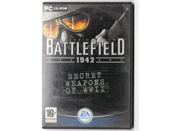 Battlefield 1942 Secret Weapons of WWII - Expansion pack - PC Spel