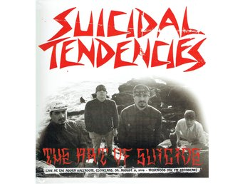 SUICIDAL TENDENCIES - THE ART OF SUICIDE (LTD EDT) LP
