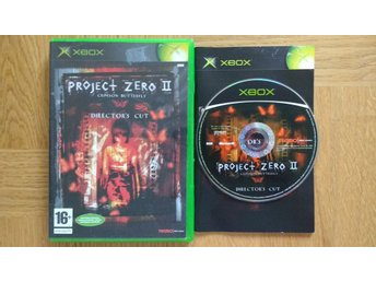 Xbox: Project Zero 2 II Crimson Butterfly