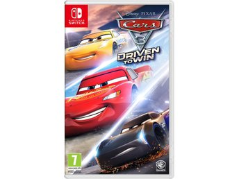 Cars 3 Driven to Win (Inkl. 20+ Bilar & banor) - Nytt till Nintendo Switch!! REA