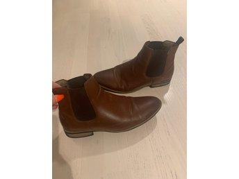 Bruna boots herrskor trendiga storlek 42 herr Nelly
