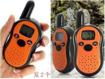 NY!2st Mini Walkie Talkie i fickformat 0.5W / 7 Km