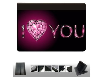 iPad 2,3,4  fodral med cool bild : I love you