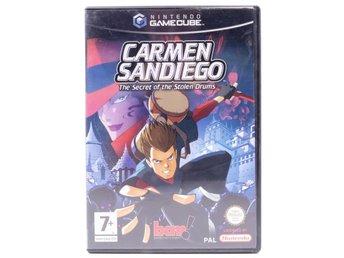 Carmen Sandiego: The Secret Of The Stolen Drums - Gamecube - PAL (EU) - Helsinki - Carmen Sandiego: The Secret Of The Stolen Drums - Gamecube - PAL (EU) - Helsinki