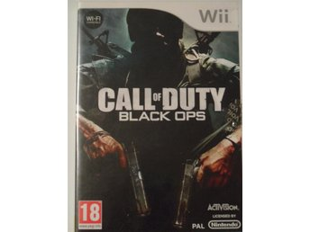 Nintendo Wii Call on Duty: Black Ops