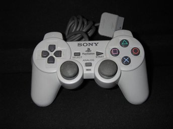 Orginal Dual Analog Controller Till Playstation 1
