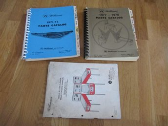 FLIPPERSPEL | Manual till Williams 1971-1972, 1977-1978 & 1979