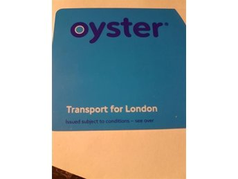 Oyster card - London transport - The Tube