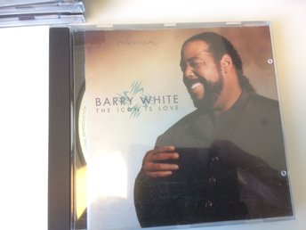 White Barry - The Icon Is Love CD