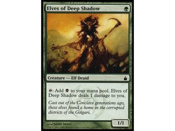 Magic The Gathering Elves of the Deep Shadow