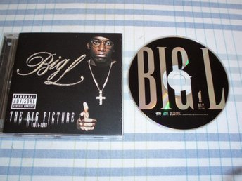Big L ?– The Big Picture (1974-1999),Rawkus ?– 088 112 896-2, USA 2002, Reissue