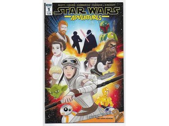 Star Wars Adventures # 1 Cover A NM Ny Import