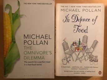 2 Books by Michael Pollan